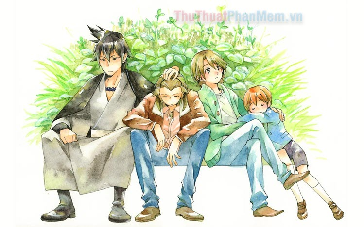 Những bộ Anime chủ đề gia đình hay nhất