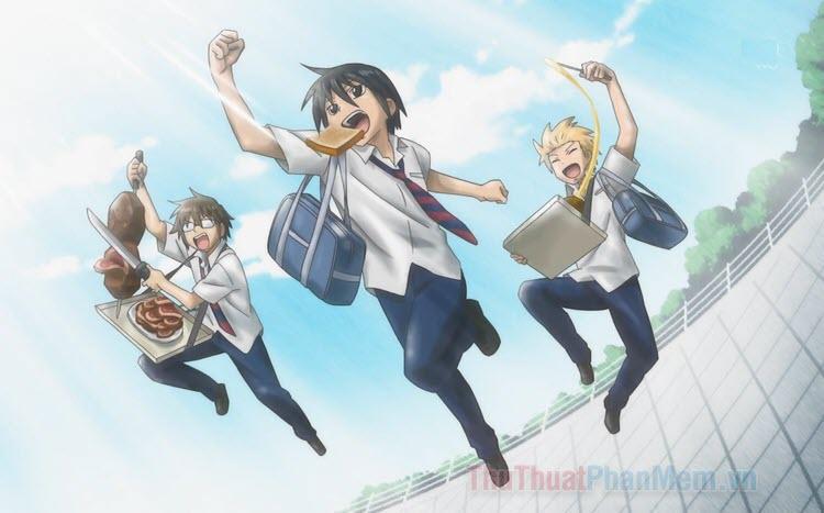 Những bộ Anime hài hước học đường hay nhất
