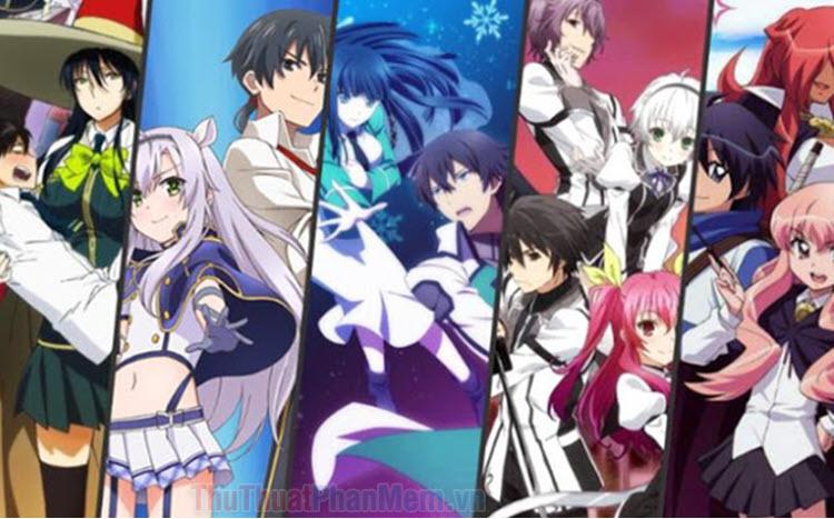 Những bộ Anime học đường phép thuật hay nhất