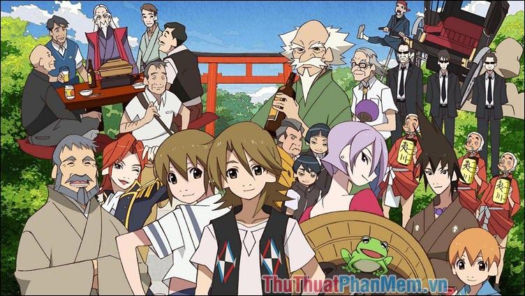 Uchouten Kazoku The Eccentric Family – Gia đình lập dị (2013)
