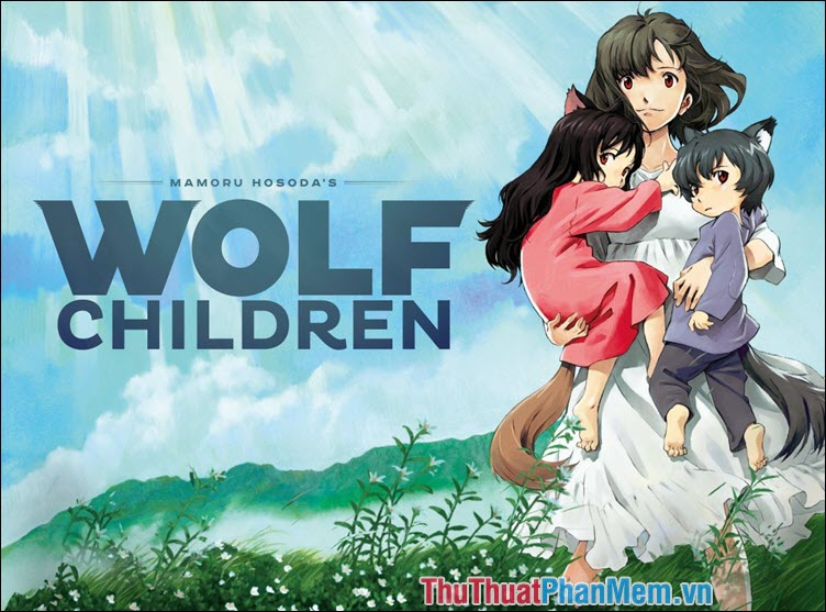 Wolf Children Ame and Yiki