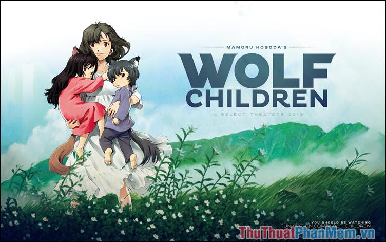 Wolf Children Ame and Yuki – Những đứa con của sói (2012)