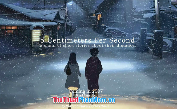 5 Centimeters Per Second - 5 Centimet  giây (2007)
