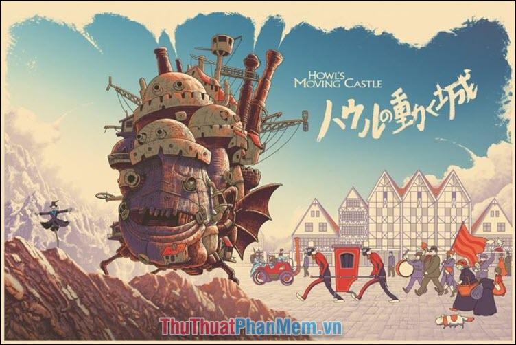 Howl's Moving Castle - Lâu đài bay của pháp sư Howl (2004)