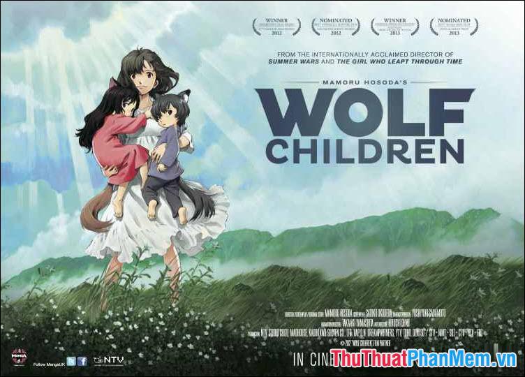Wolf Children – Những đứa con của sói (2012)