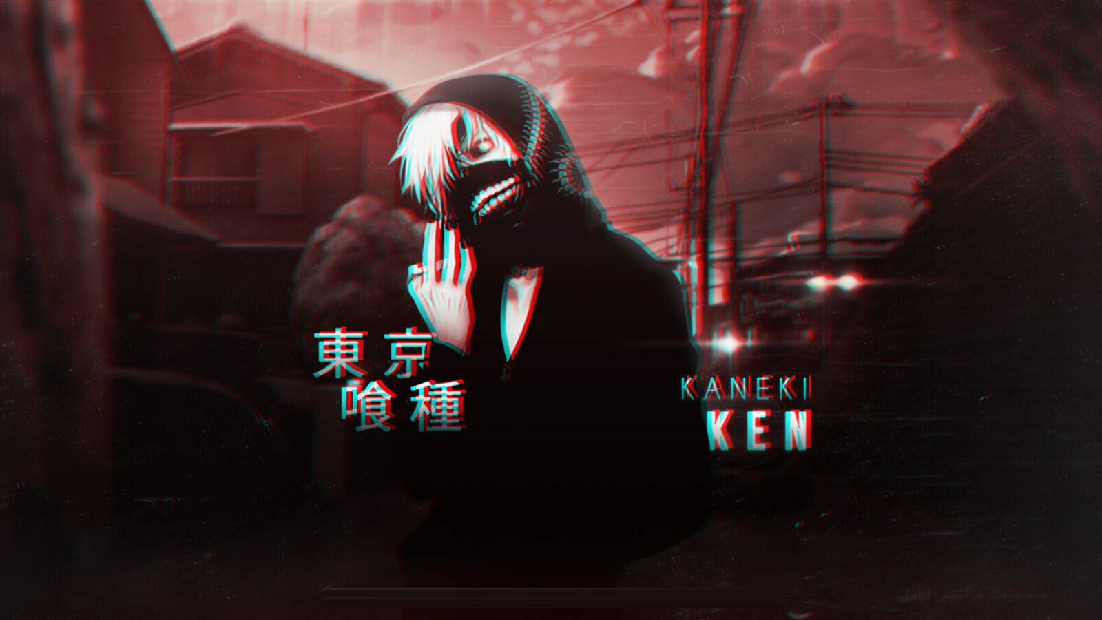 Ảnh Kaneki Ken đẹp và huyền bí