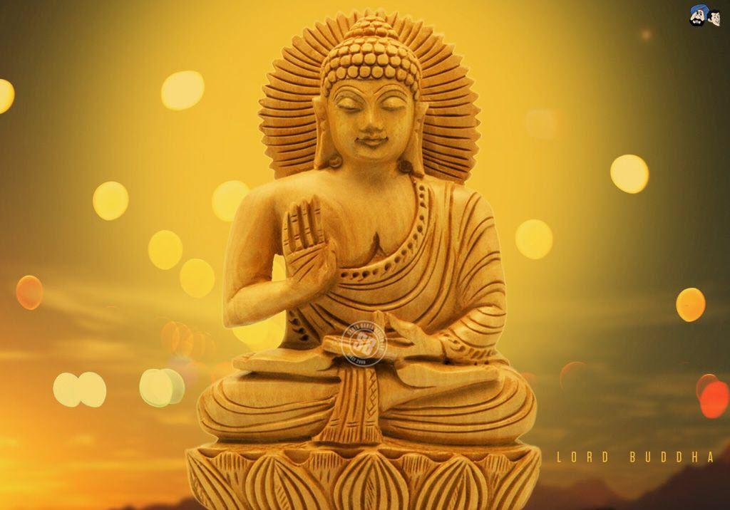 Ảnh Phật 3D soi sáng