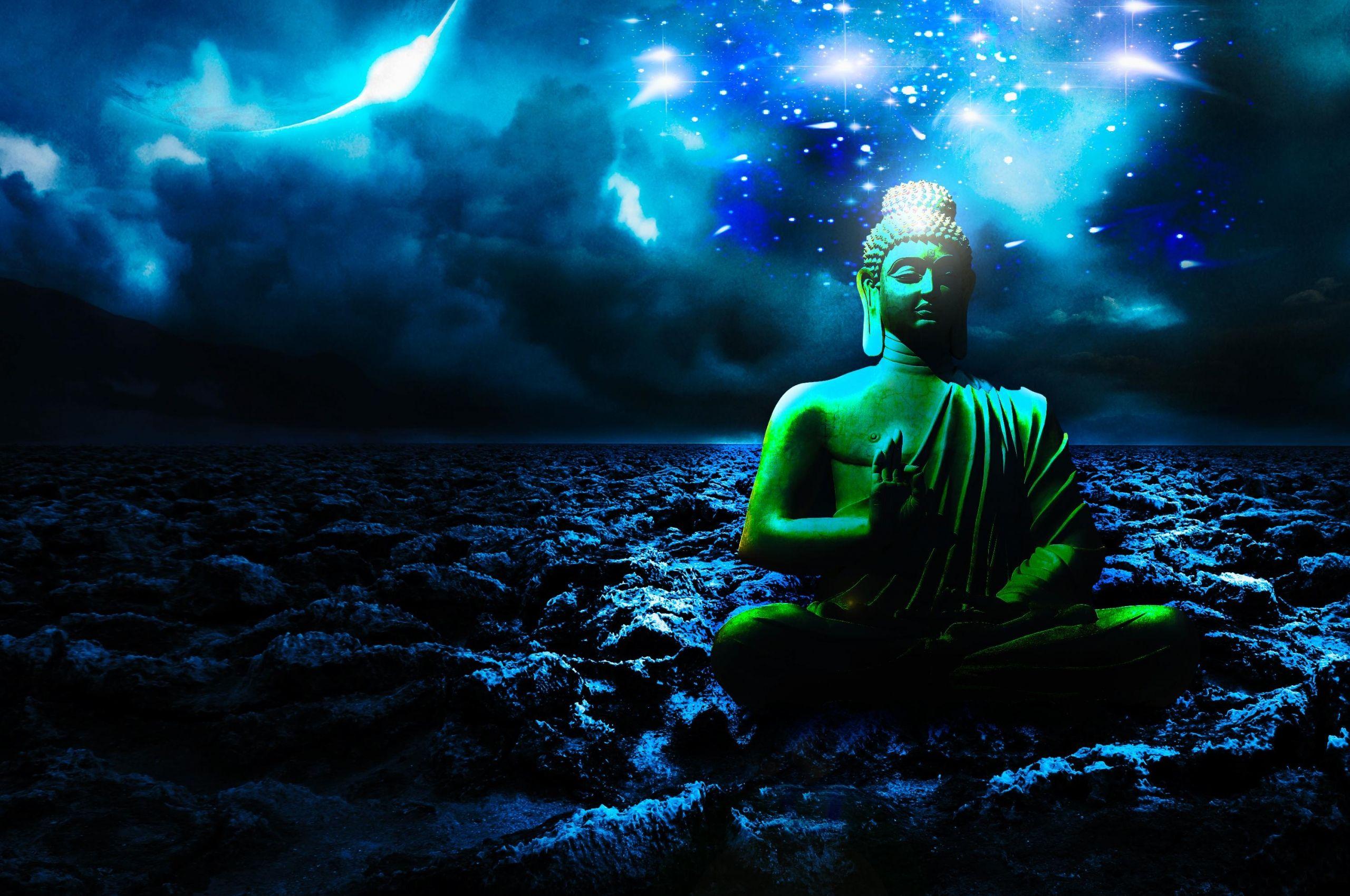 Ảnh Phật 3D và vũ trụ