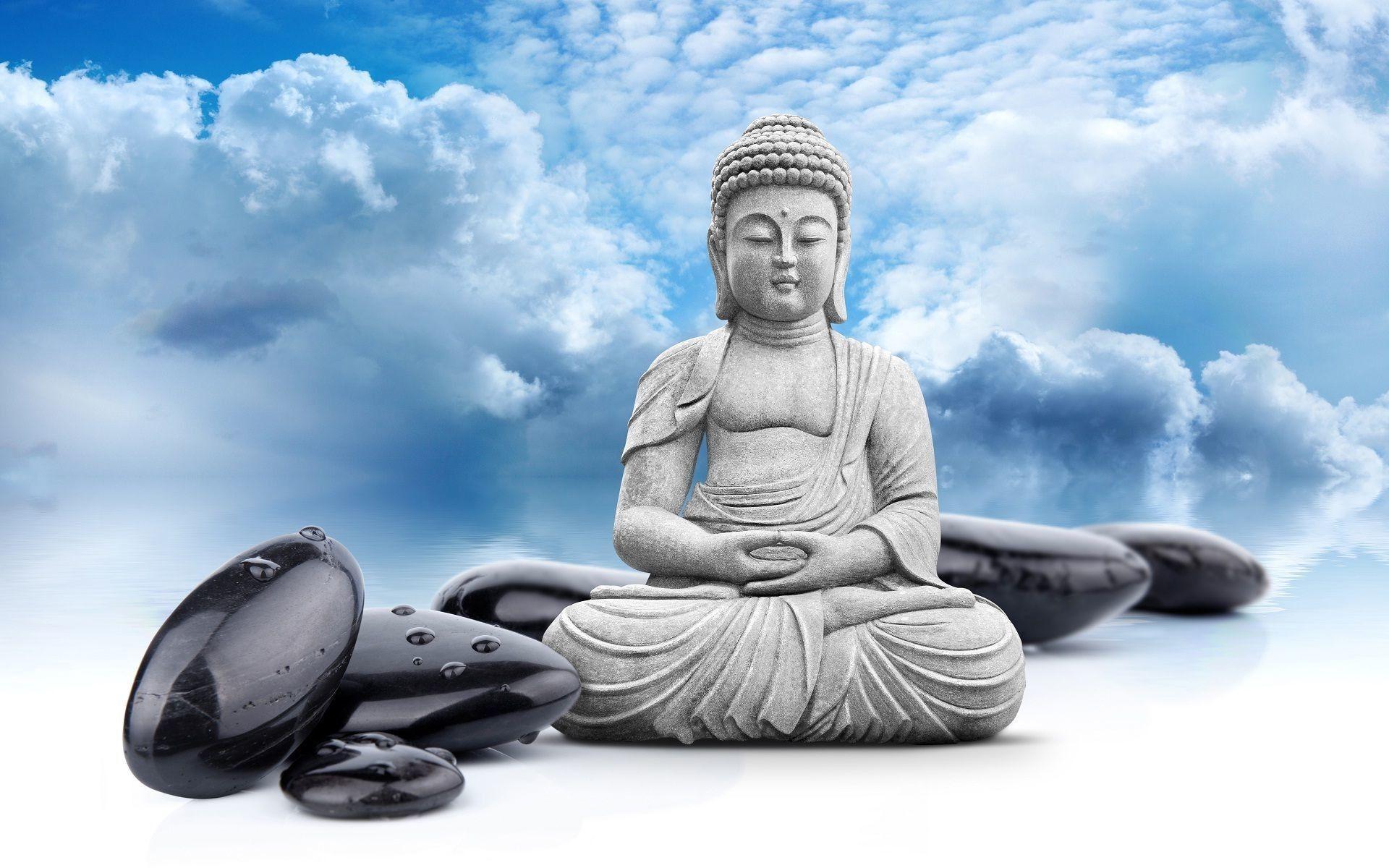 Ảnh tượng Phật 3D thanh bình