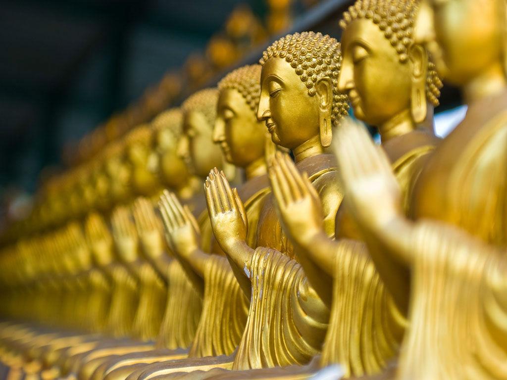 Ảnh tượng Phật vàng ròng