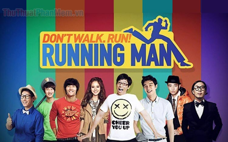 Các trò chơi trong Running Man cực hay và vui