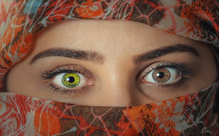 Cách thay đổi màu mắt trong Photoshop