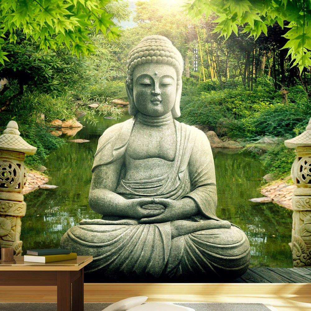 Hình ảnh Phật 3D thanh bình