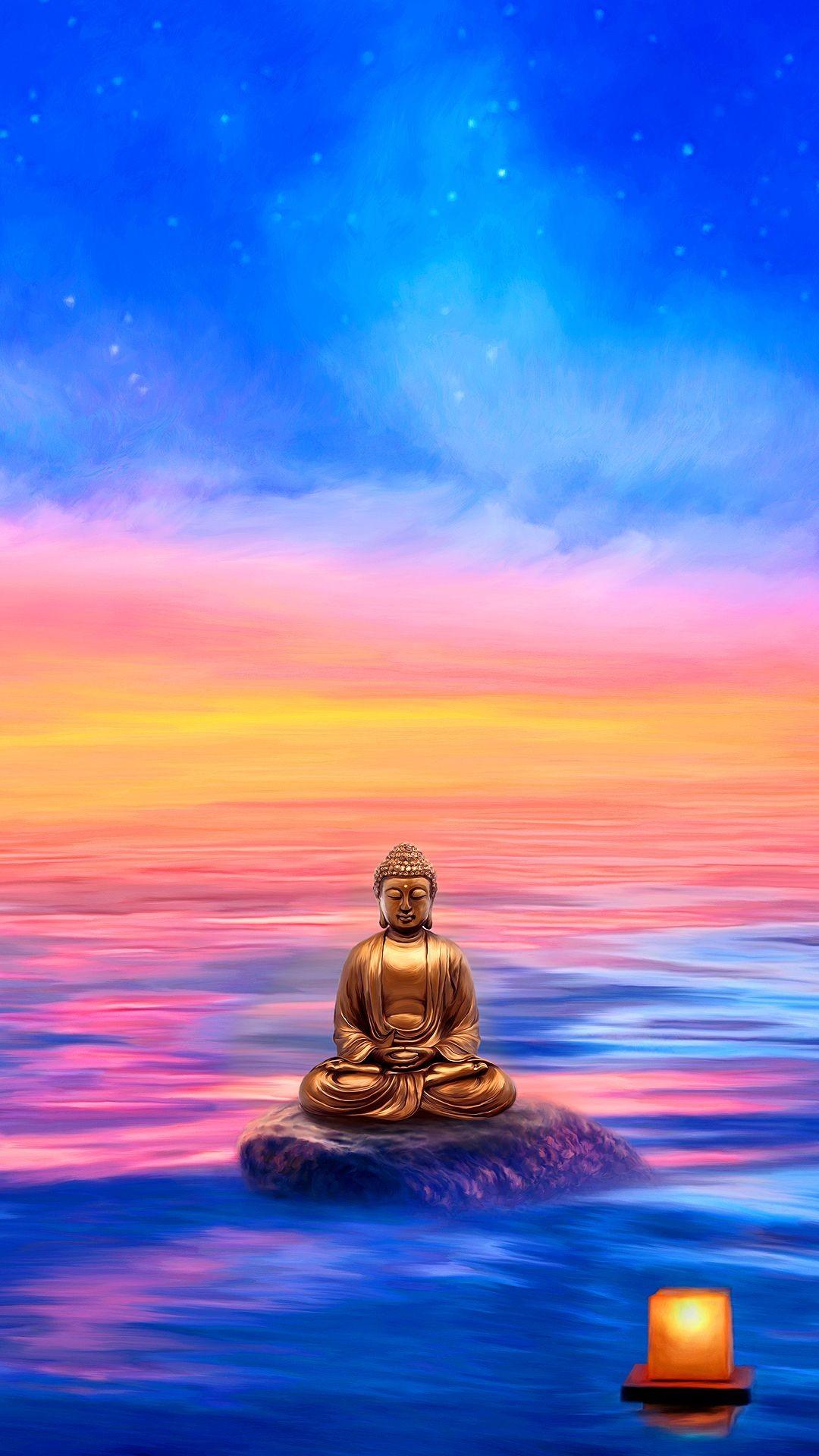 Hình ảnh Phật thanh bình