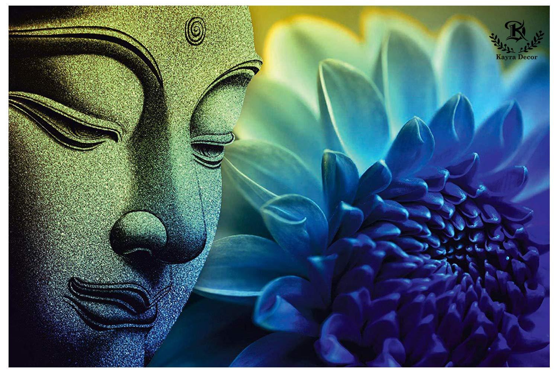 Hình ảnh Phật và hoa