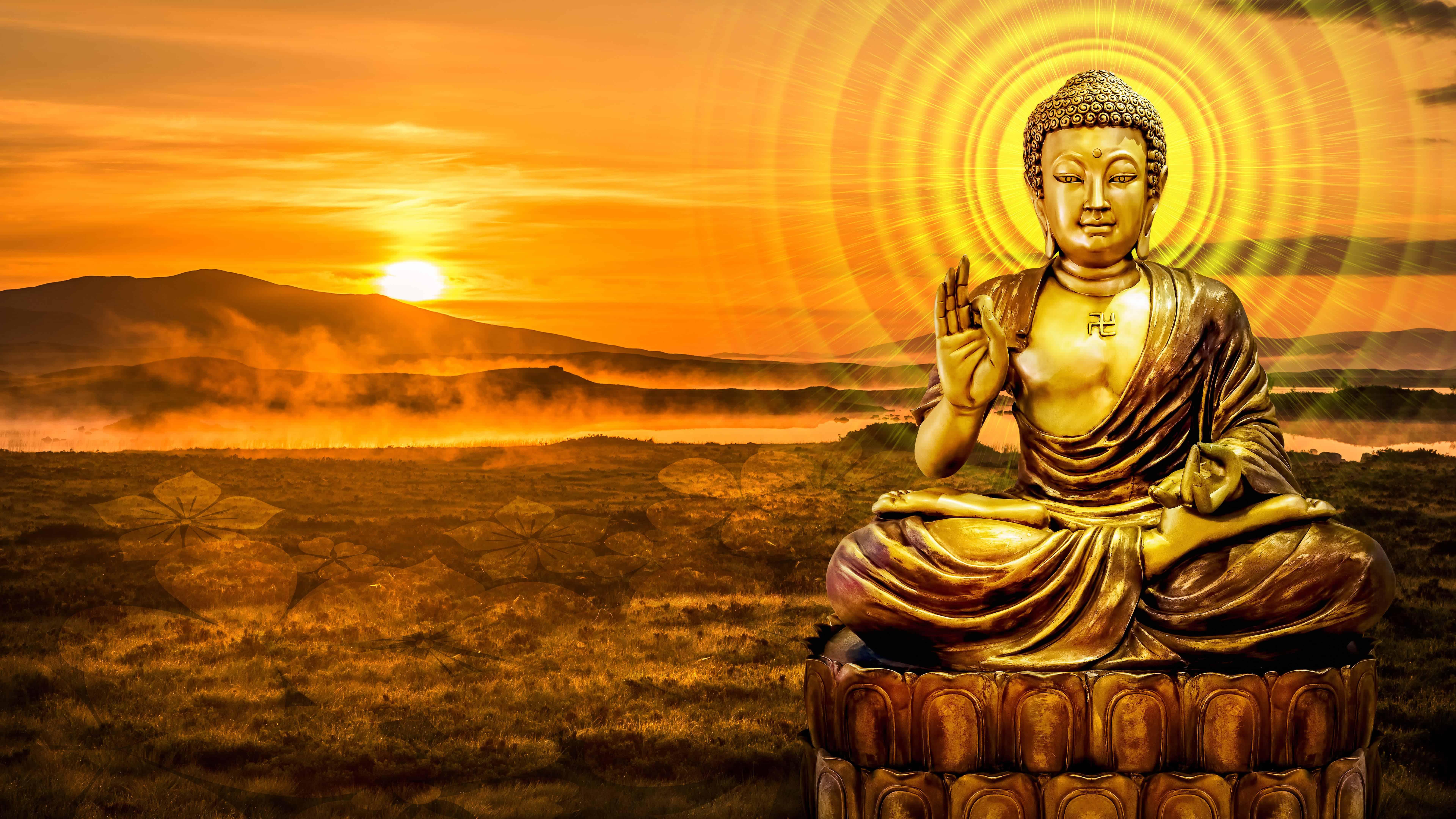 Hình ảnh tượng Phật 3D đẹp nhất