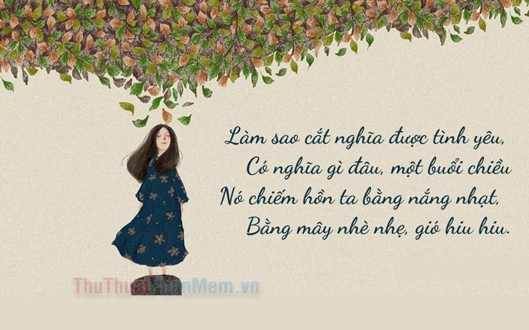 Những bài thơ tình chia tay 4 câu hay nhất