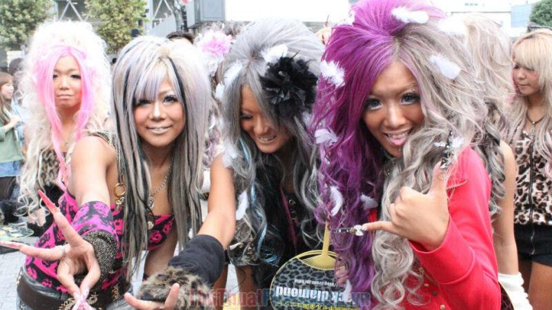 Sự ảnh hưởng của Gyaru với Nhật Bản