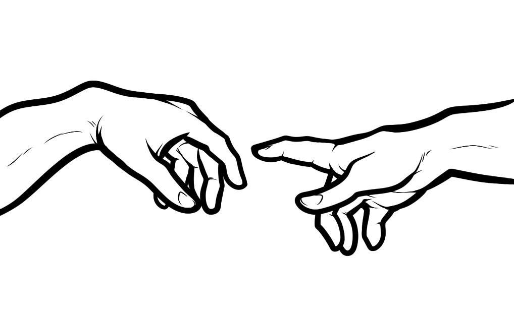 Tô màu bàn tay