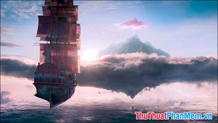 Vùng đất Neverland trong phim điện ảnh Pen và vùng đất thần tiên