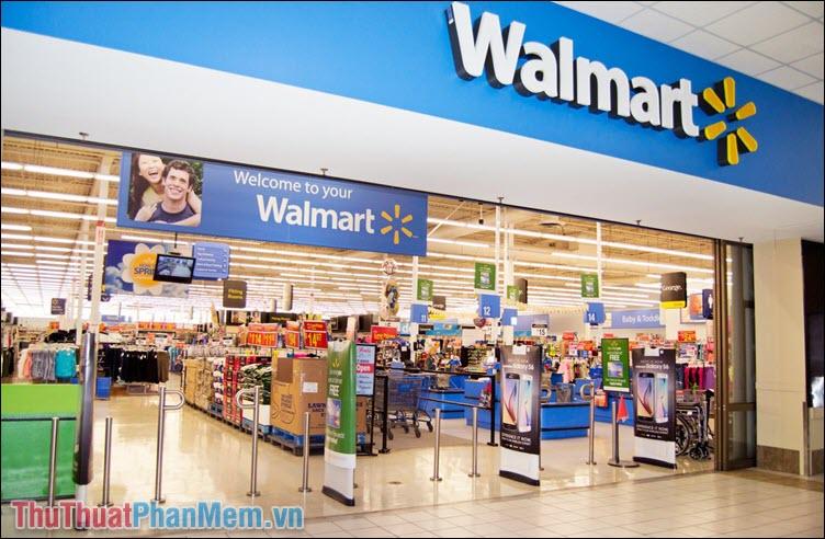 Walmart là tập đoàn bán lẻ tương tự như Vinmart, Big C, KFC hay Mcdonald
