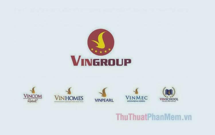 Mẫu logo Vingroup (PNG, Vector)