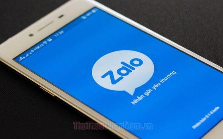 Cách chụp màn hình Zalo