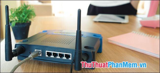 Khởi động lại modem Wifi và sử dụng bộ mở rộng sóng