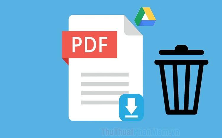 Cách xóa bớt trang PDF trong 1 file PDF bất kỳ