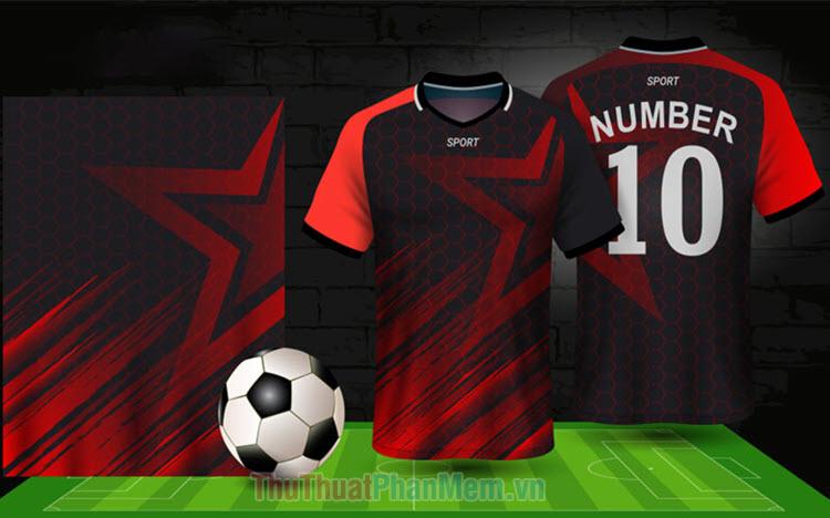 Font số in áo bóng đá đẹp
