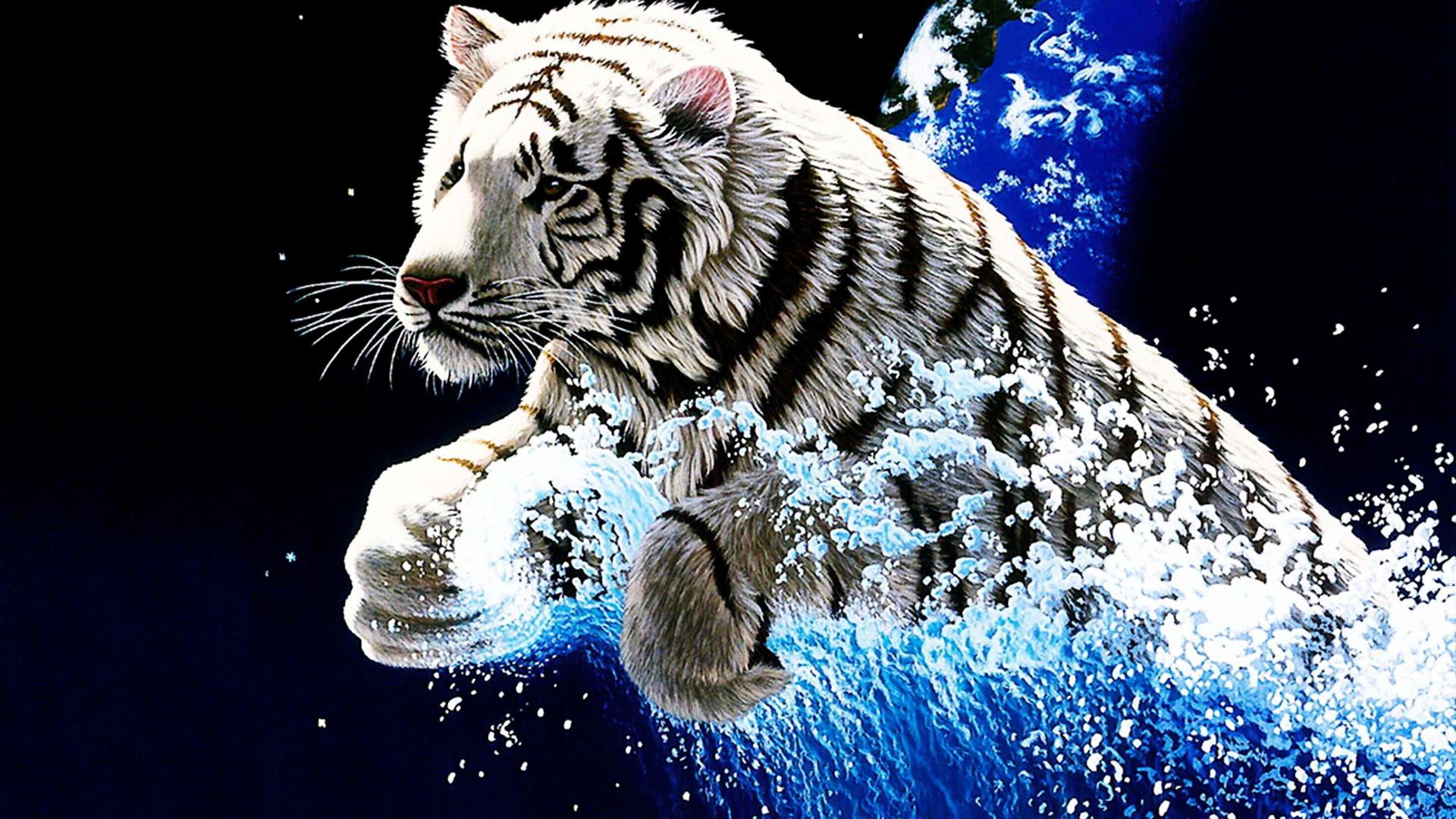 Hình ảnh hổ 3D cực đẹp