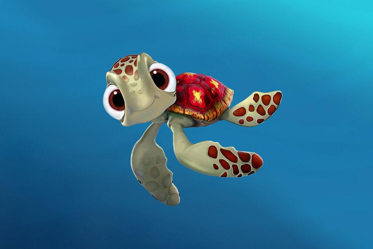 Hình rùa con hoạt hình dễ thương
