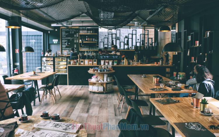 Hình ảnh quán cafe đẹp
