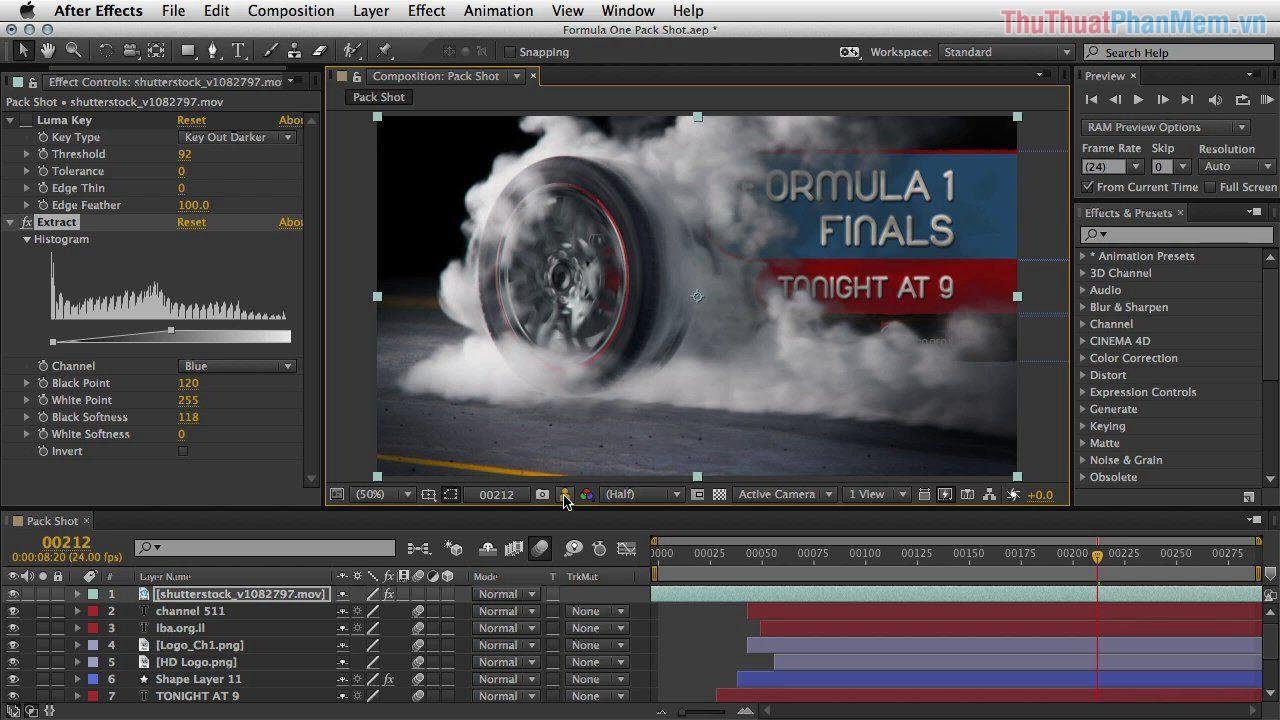 After Effect là một phần mềm đồ hoạ được xây dựng bởi nhà phát triển phần mềm Adobe