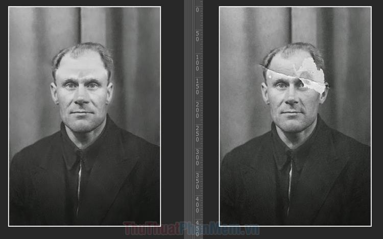 Cách phục chế ảnh cũ bằng Photoshop