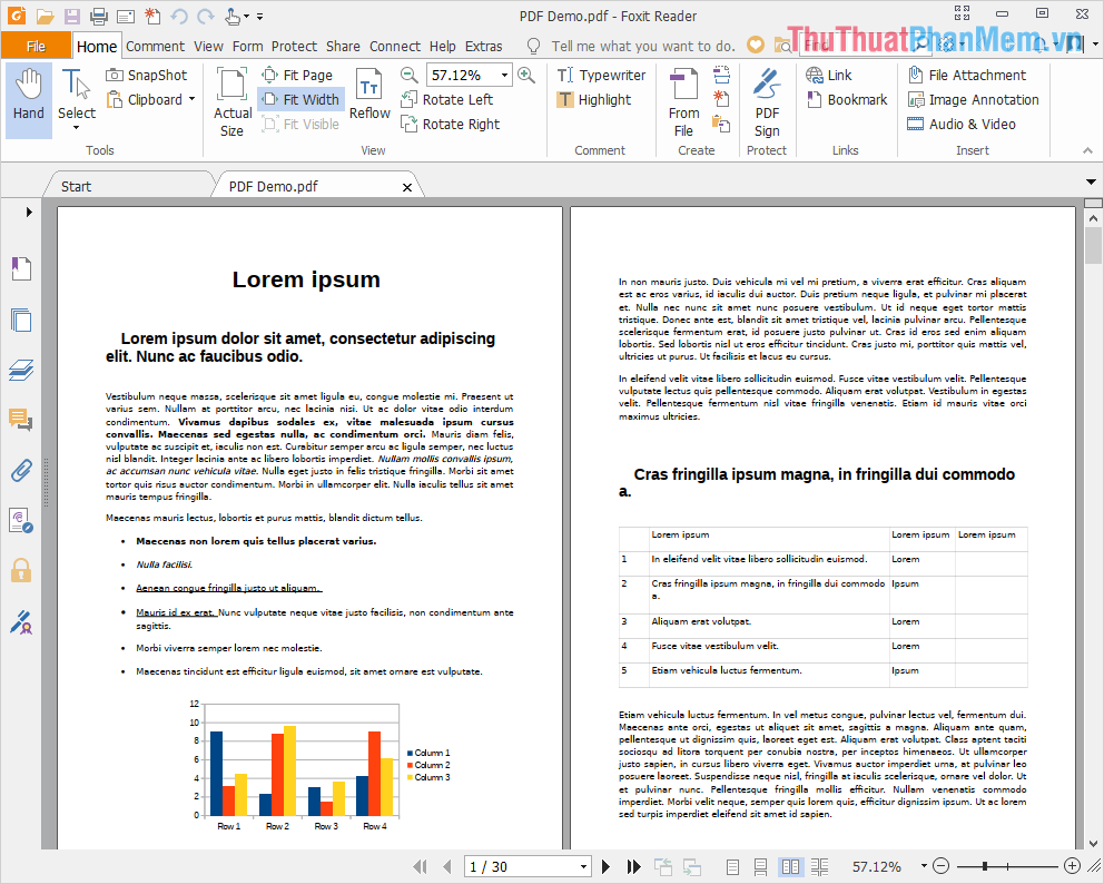 Foxit Reader hỗ trợ người sử dụng xem file PDF một cách nhanh chóng và hiệu quả