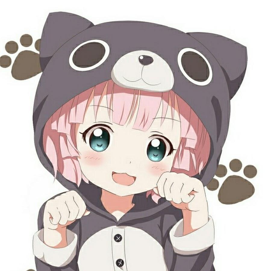 Ảnh đại diện girl anime kawai