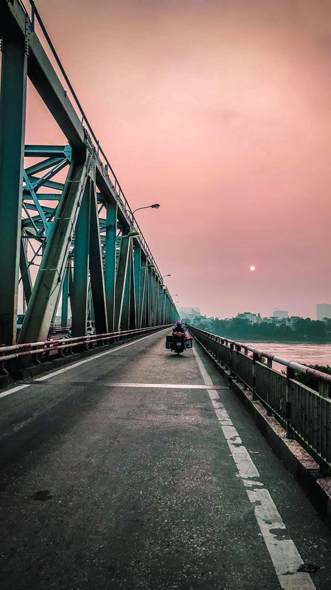 Ảnh nền cầu Long Biên Hà Nội