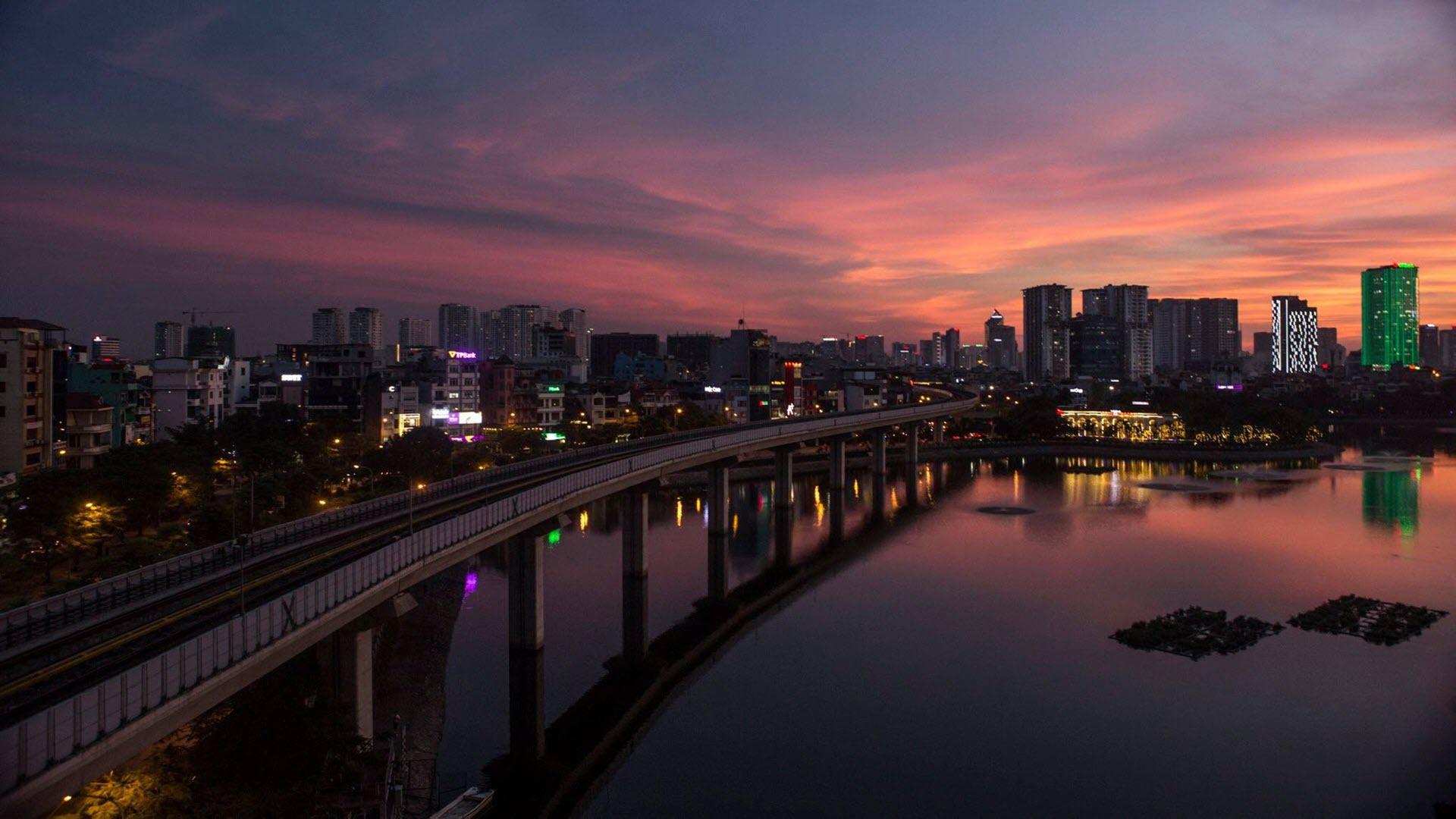 Ảnh nền đẹp về Hà Nội