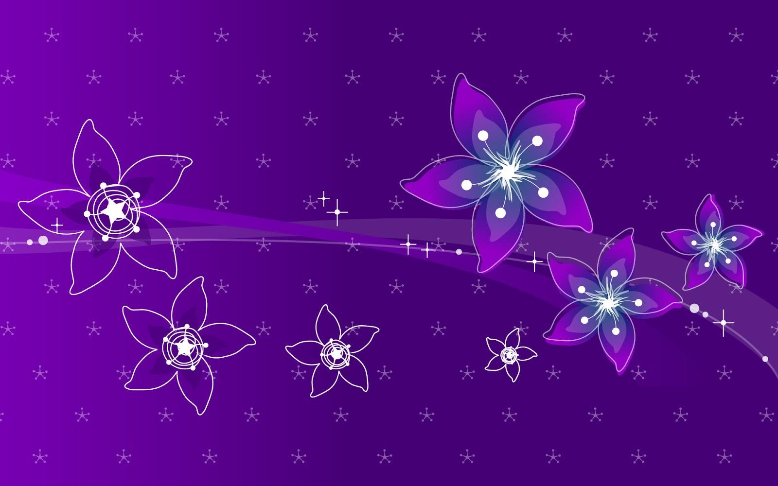 Background hoa tím đẹp