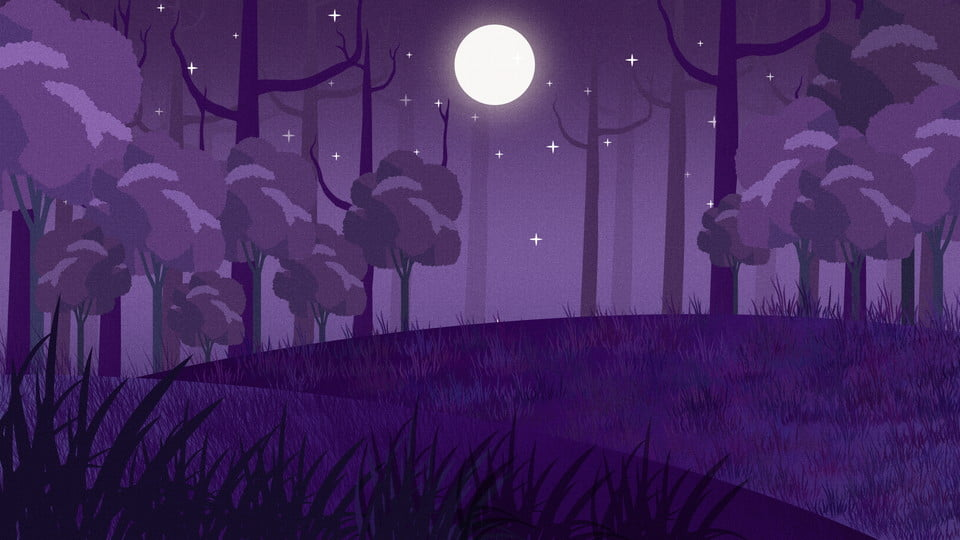 Background khu rừng tím