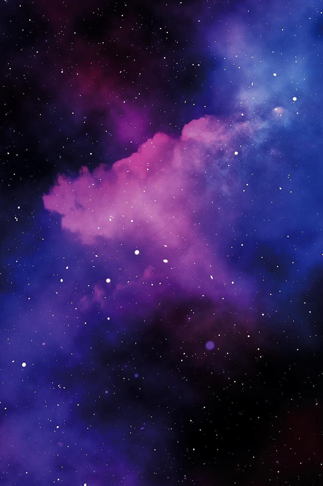 Background trời tím