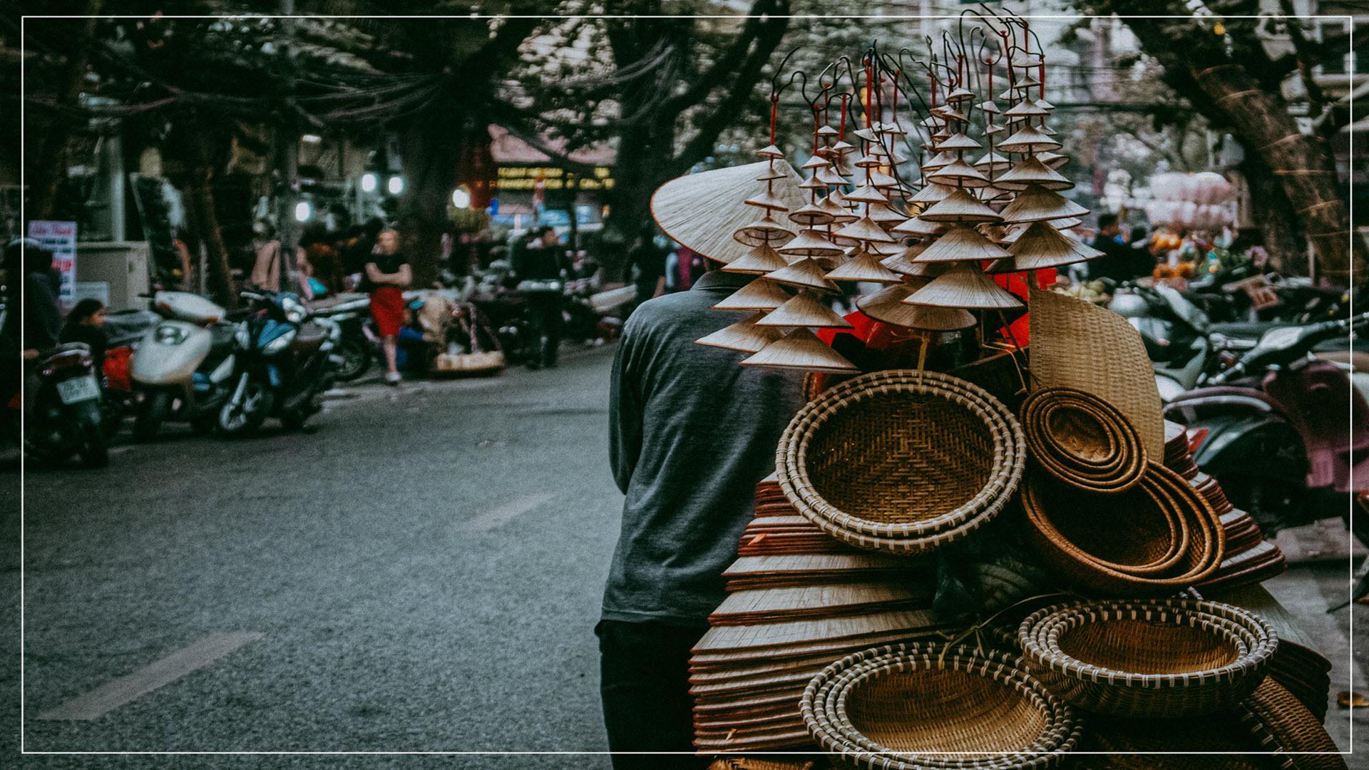 Hình nền đẹp về cuộc sống ở Hà Nội