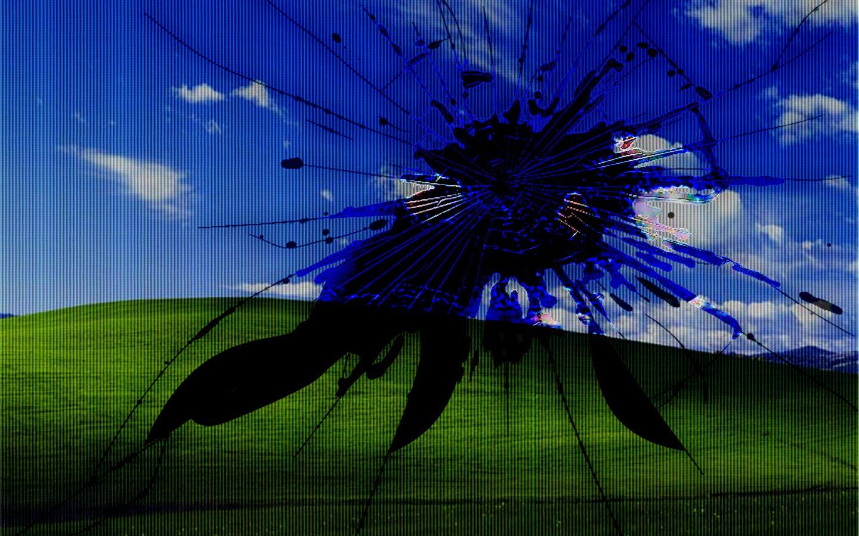 Hình nền máy tính vỡ màn hình