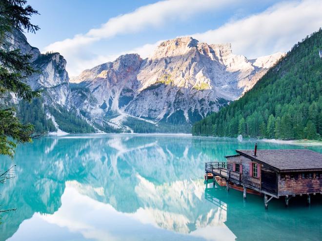 Ảnh hồ núi đẹp