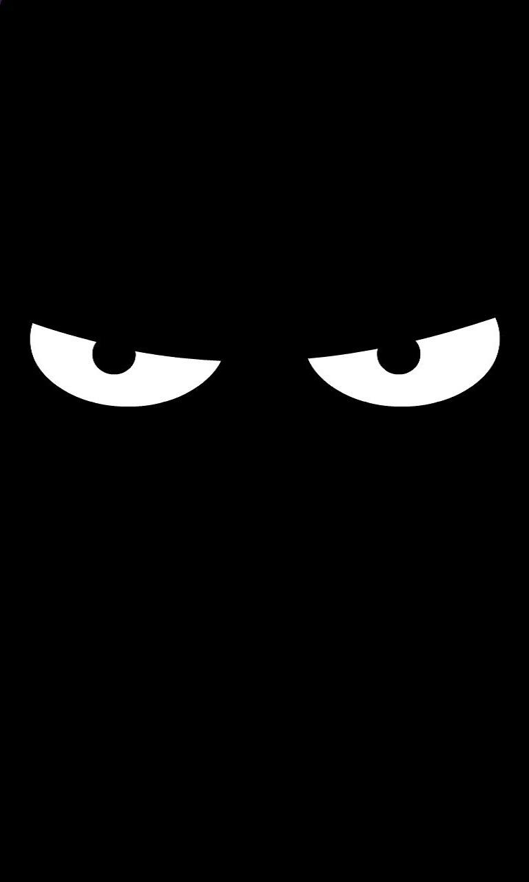 Ảnh màn hình khoá màu đen