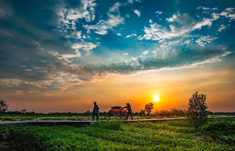 Ảnh thiên nhiên và con người lao động Việt Nam