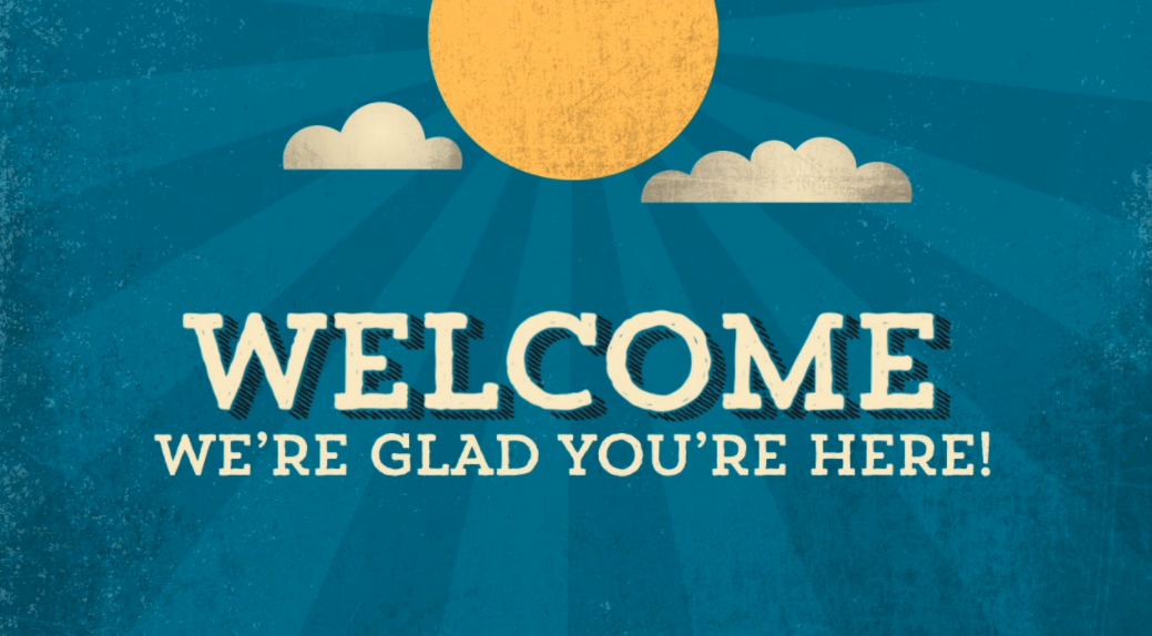 Ảnh welcome cho powerpoint