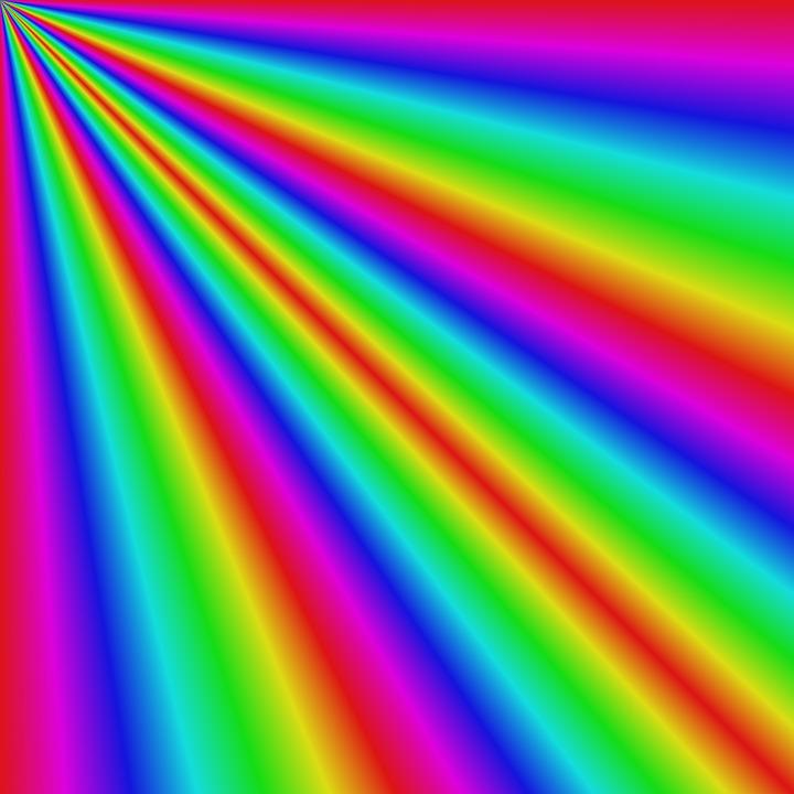 Background ánh sáng cầu vồng