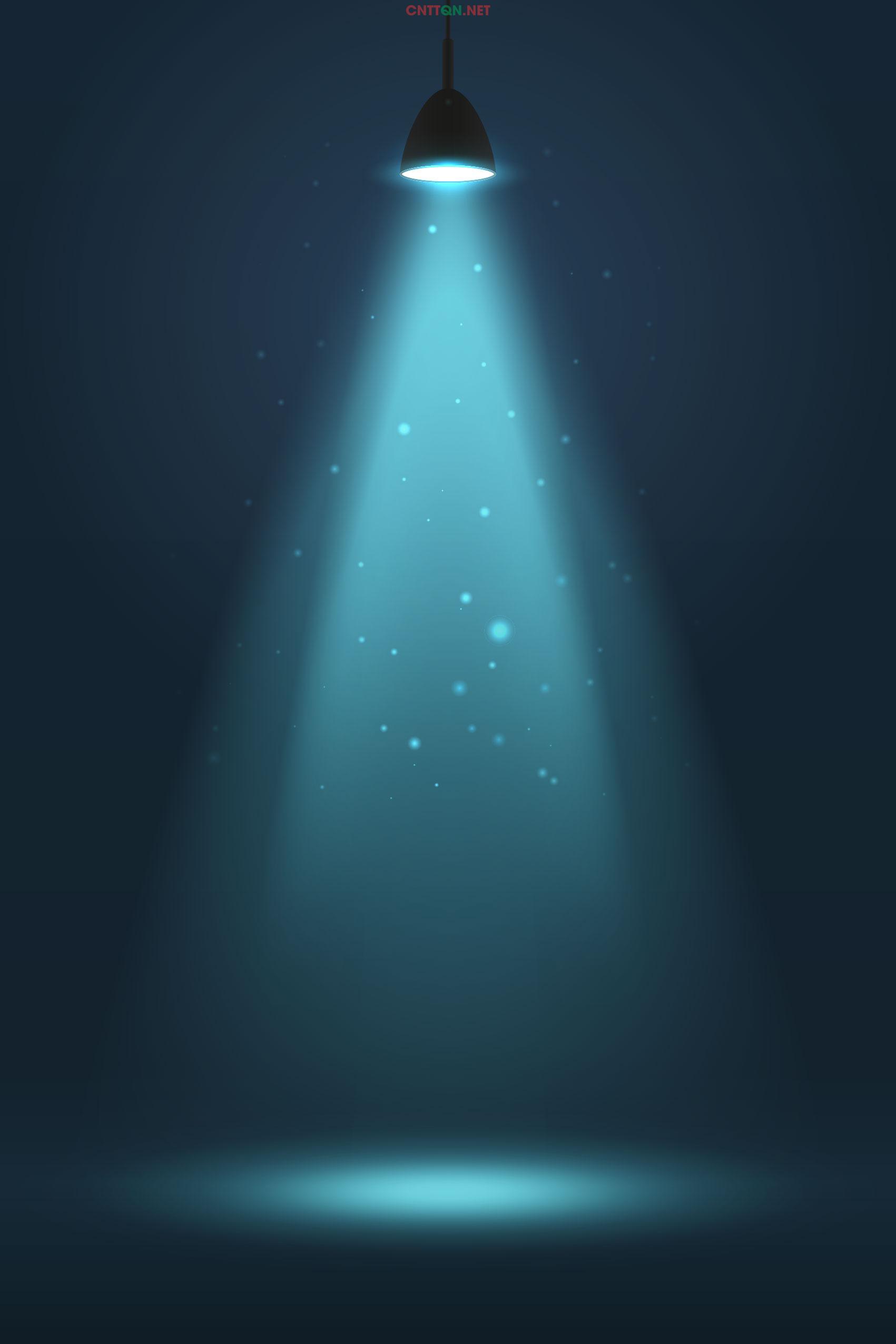 Background ánh sáng đèn